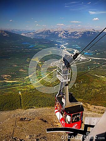 Free Jasper Sky Tram, Canadian Rockies, Stock Photography - 92288602