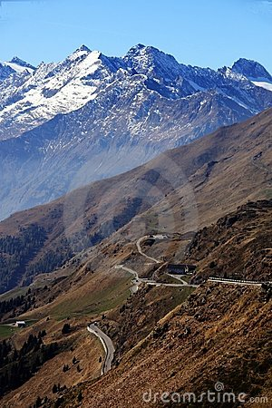 Jaufenpass / Passo di Monte Giovo (south side)