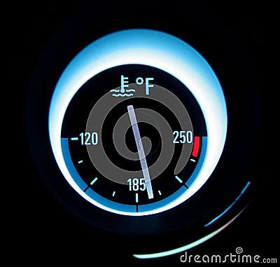 Jauge de la température