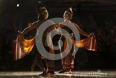 JAVANESE CLASSIC DANCE Editorial Photography