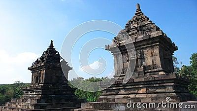 Javanese hindu temple of candi barong