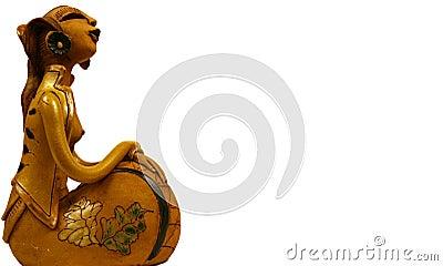 Javanese Lady Sculpture