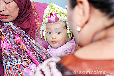 Javanese traditional celebration Editorial Photo