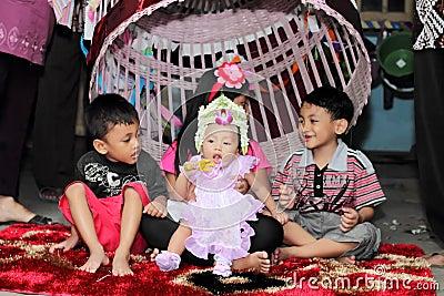 Javanese traditional celebration Editorial Photo