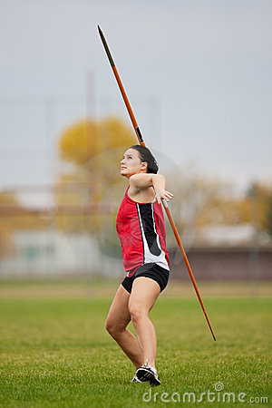 Javelin athlete