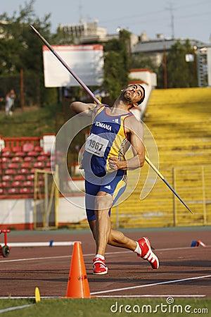 Free Javelin Throwing Royalty Free Stock Image - 33615986