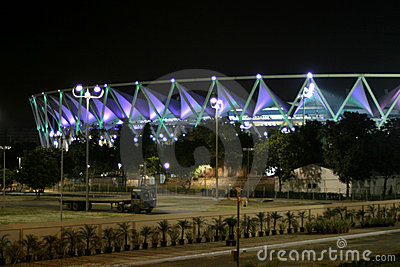 Jawahar Lal Nehru Stadium, New Delhi Editorial Stock Image