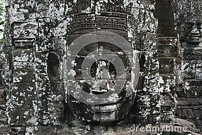 Jayavarman face