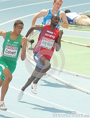Jaysuma Saidy Ndure of Norway Editorial Stock Photo