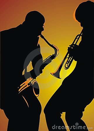 Free Jazz Background Royalty Free Stock Photography - 10815237