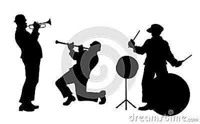 Jazz Band Royalty Free Stock Images Image 20584089