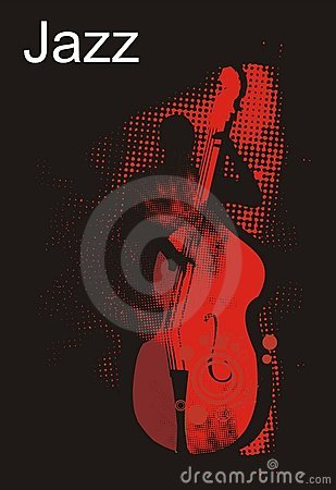 Free Jazz Bass Player Performance Stock Images - 2989174