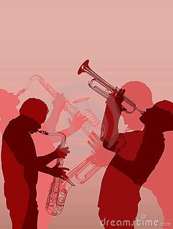 Free Jazz Brass Musician Stock Images - 15277024
