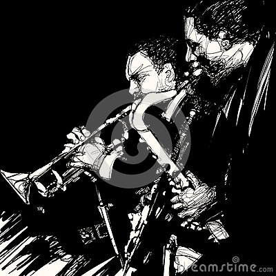 Jazz brass musician