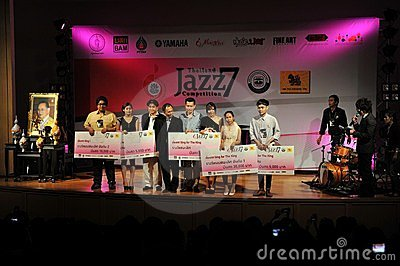 Jazz Competition Editorial Stock Photo