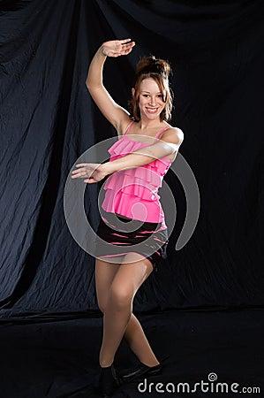 Jazz Dancer in Pink