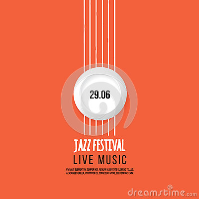Free Jazz Festival Poster Template. Jazz Music. Saxophone. International Jazz Day. Vector Design Element Royalty Free Stock Images - 78370959