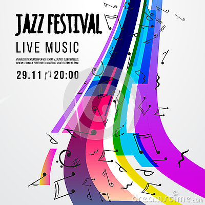 Free Jazz Festival Poster Template. Jazz Music. Saxophone. International Jazz Day. Vector Design Element Royalty Free Stock Photography - 79008027