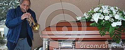 Jazz funeral.