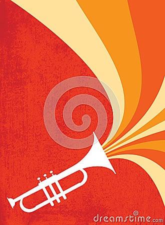 Jazz Horn Blast: Red_Orange