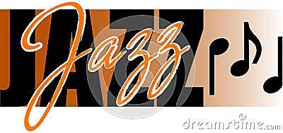 Jazz Music Cartoon Illustration