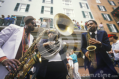 Jazz musicians Editorial Stock Image