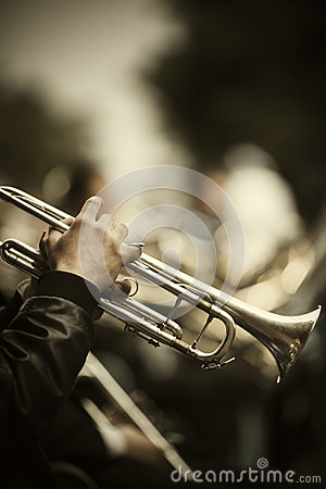 Free Jazz On The Street Royalty Free Stock Photos - 28550268
