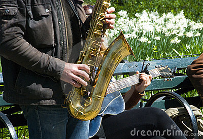 Jazz outdoors