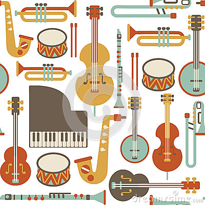 Free Jazz Pattern Stock Images - 32175314