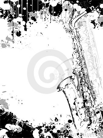 Free Jazz Poster Background Royalty Free Stock Images - 9581529