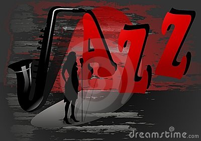 Jazz poster, cdr vector