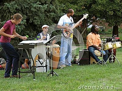 Jazz Quartet Editorial Image