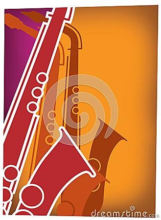 Jazz Sax Blast Red_Violet