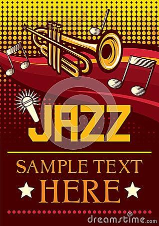 Jazzowy plakat