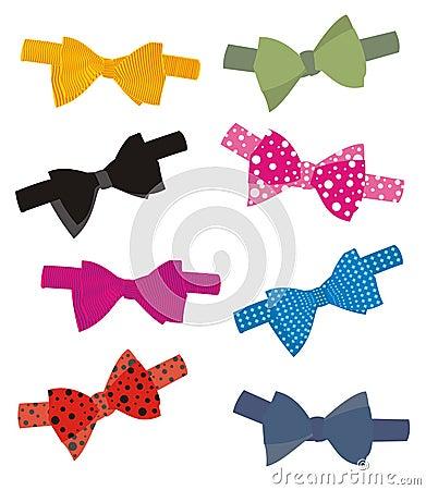 Jazzy bow ties