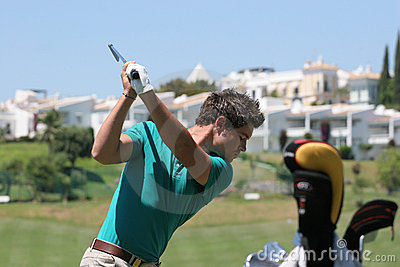 JB Gonnet, Golf Open de Andalucia 2007 Editorial Stock Image