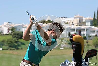 JB Gonnet, Golf Open de Andalucia 2007 Editorial Stock Image