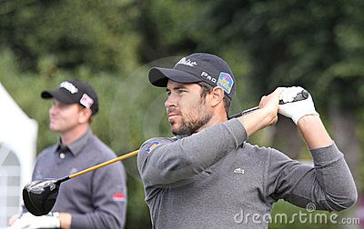 JB Gonnet, Vivendi golf cup, sept 2010 Editorial Photography