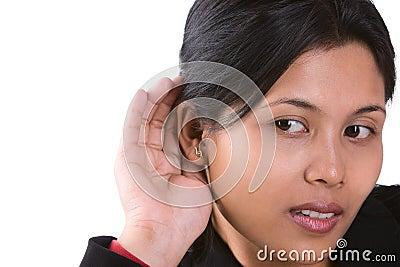 Je ne peux pas entendre ce que vous dites