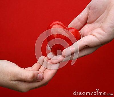 Je te donne mon coeur