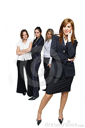 Free Jealous Business Women Stock Images - 1526794