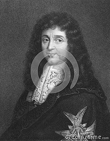 Jean-Baptiste Colbert Editorial Image