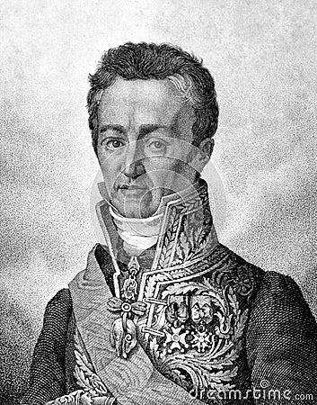 Jean-Baptiste de Villele Editorial Stock Image