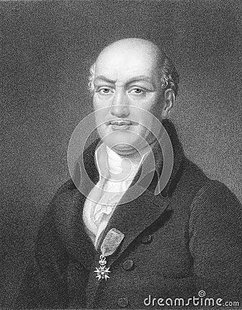 Jean Baptiste Joseph Delambre Editorial Image