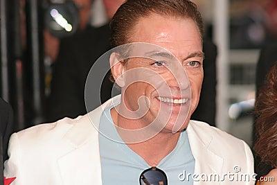 Jean Claude van Damme Editorial Image