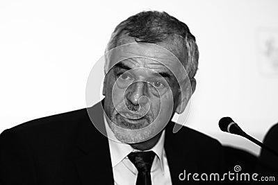 Jean-Marie Nicolas, Junior prefect of Pyrenees-Ori Editorial Stock Image