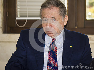 Jean todt portrait president fia Editorial Photography
