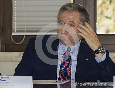 Jean todt portrait president fia Editorial Image