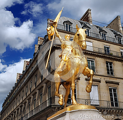 Free Jeanne D Arc. Royalty Free Stock Image - 27458806