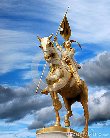 Free Jeanne D Arc. Stock Images - 28295834